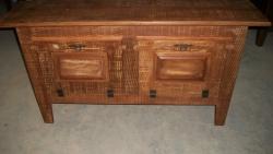 cod. 02-armario boca de forno 1,60 x 0,40 com porta almofadada
