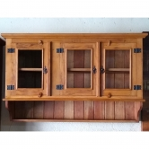 armário suspenso de 1,30 x 0,80 x 0,40 com 3 portas e 1  prateleira cod 51