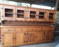 armário suspenso de 2,5 x 0,80 x 0,40  com buffet de 2,5  m cod 59
