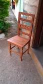 cadeira detalhe em flor  cod 16