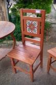 cadeira com ladrilho cod 17