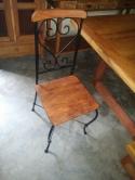 cadeira com metal cod 06