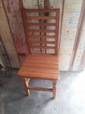 cadeira ripada na horizontal cod 08