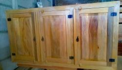 fechamento de pia com 3 portas almofadadas cod 01