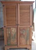 Guarda roupa de 2 x 1,30 x 0,50 com portas venezianas cod 15