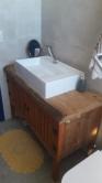 armário de banheiro com tampo de prancha 0,90 x 0,80 de altura x 0,50 cod 45