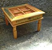 mesa de centro para sementes  de 60 x 60  cod 26