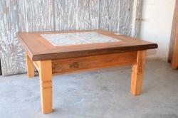 cod. 05-mesa de centro com ladrilho 80 x 80