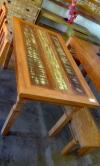 mesa de 1,60 x 0,80 com 1 gaveta cod 34