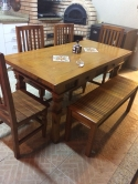 mesa de 1,80 x 0,90 com ladrilho cod 37