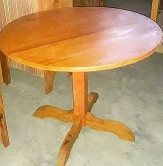 mesa redonda de 1 x 1  cod 75