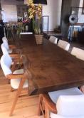 mesa de 2,5 x1  de madeira maciça cod 46