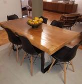 mesa de 2 x1 rústica tiba com bordas cod 47