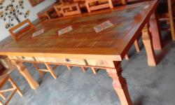 mesa de 2 x 1 com ladrilho cod 22