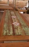 mesa de 2,5 x 1 com ladrilho cod 13