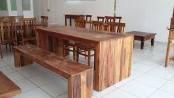 mesa em U de 2,30 x 0,90 cod 19
